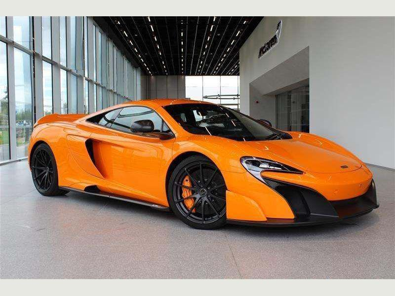 A McLaren car similar to this was clocked at 107mph