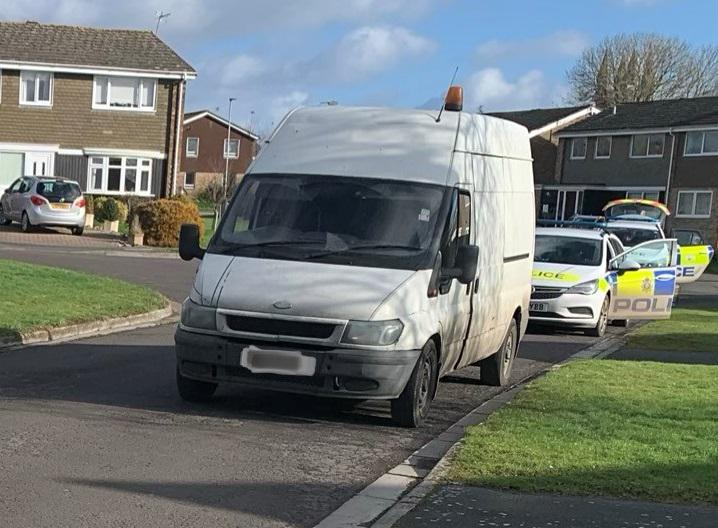 Two arrested after member of the public reported suspicious van in Cricklade