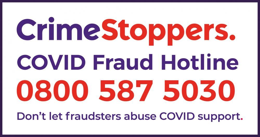 Tv Presenter Matt Allwright Joins Crimestoppers In Helping The Public In Wiltshire Swindon To Spot Signs Of Covid Fraud
