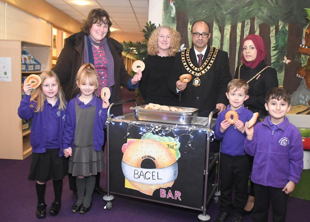 Primary school students get morning boost with free breakfast