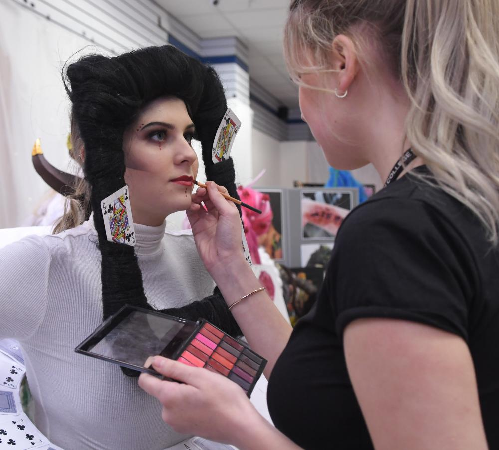 GALLERY: Fashion and Beauty Exhibition 'Make-Up Your Mind' launches in Swindon town centre, as part of Love Fashion Live!