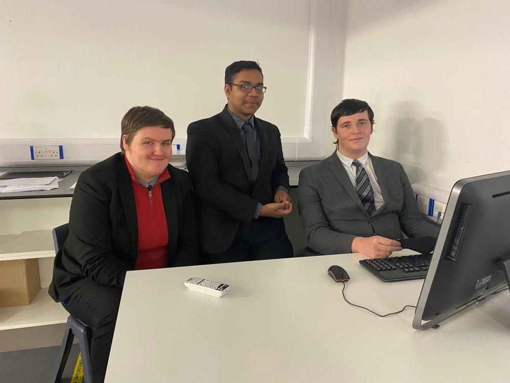 UTC Swindon students crowned runners-up in national Fujitsu competition
