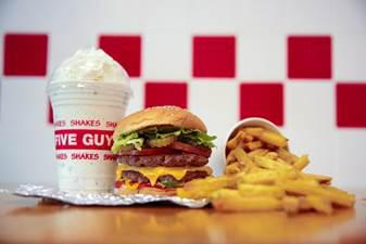 Five Guys opening at McArtherGlen Designer Outlet Swindon