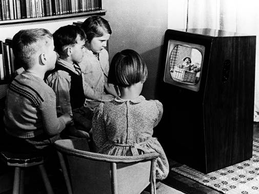 Fourteen black and white TVs still in use Swindon on 50th anniversary of BBC One in colour