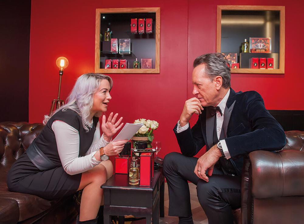 Interview: Gina Akers talks to Richard E. Grant about his new fragrance