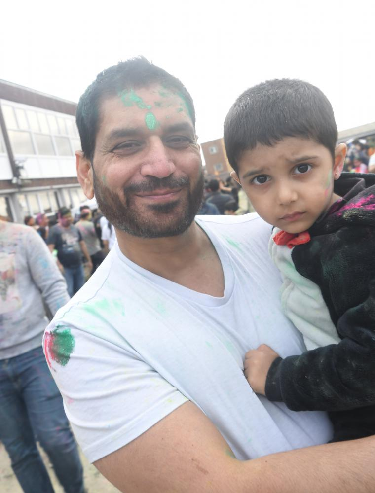 GALLERY: Swindon's Hindu community celebrates colourful Holi Festival