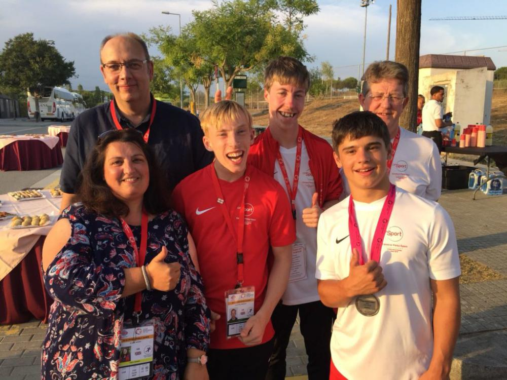 Wroughton's Thomas Stamp is announced as Cerebral Palsy Sport Young Sporting Ambassador