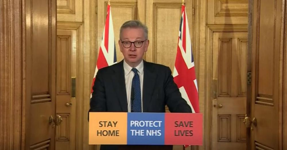 Covid-19 virus: Michael Gove announces thousands of ventilators are rolling off the production line