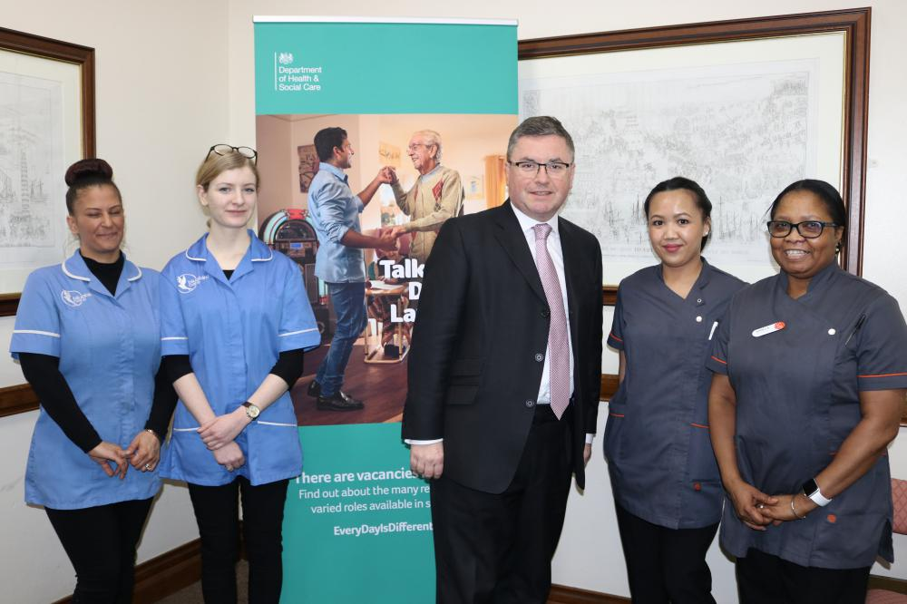 South Swindon MP Robert Buckland announces support for Government campaign to recruit more adult social care workers locally