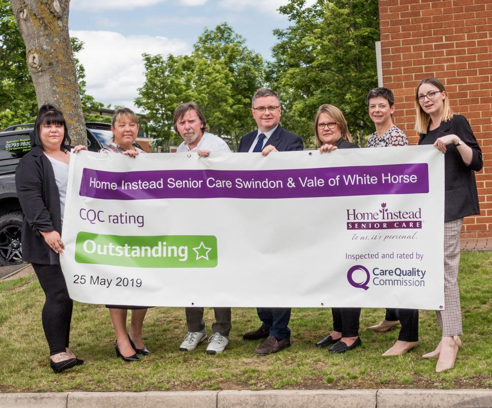 MP Robert Buckland visits 'outstanding' local care company