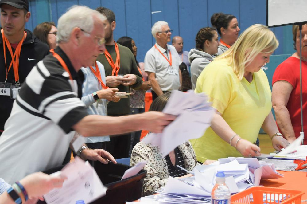 Gallery: Swindon voters turnout to vote in EU elections