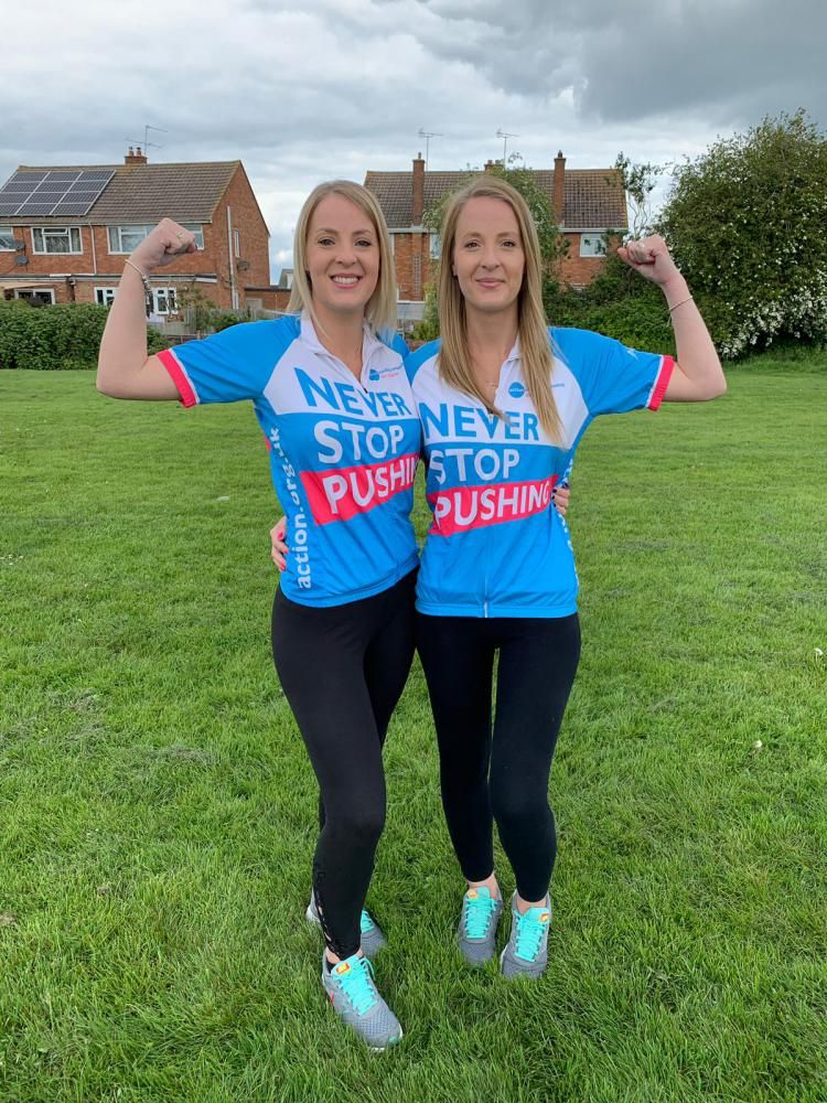 Swindon twins prepare for 300 mile children's charity challenge
