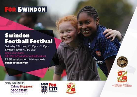 Swindon Football Festival kicks off for the community