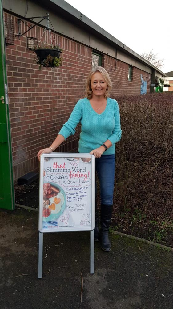 Dawn sets out to share her slimming secrets
