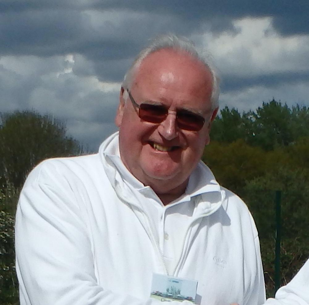 New Swindon Croquet Club chairman Clive Smith