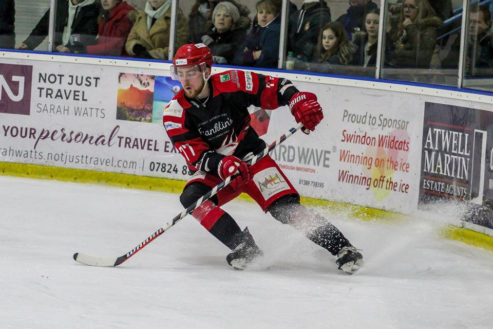 Ben Nethersell signs new contract at Swindon Wildcats