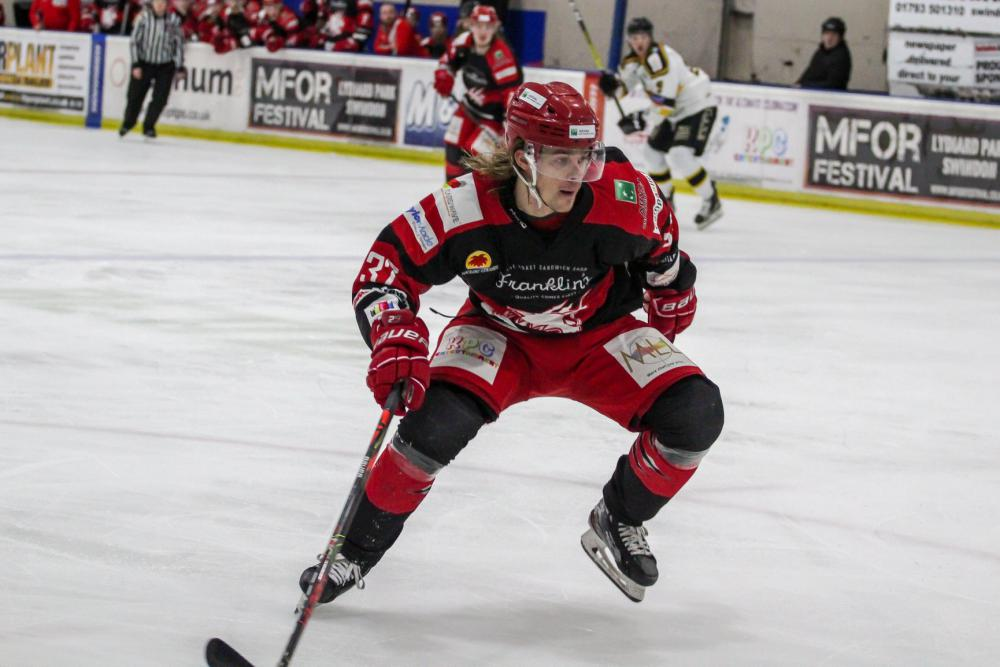 Toms Rutkis has been involved in previous arrangements between the Widcats and the Cardiff Devils. Picture: Kat Medcroft