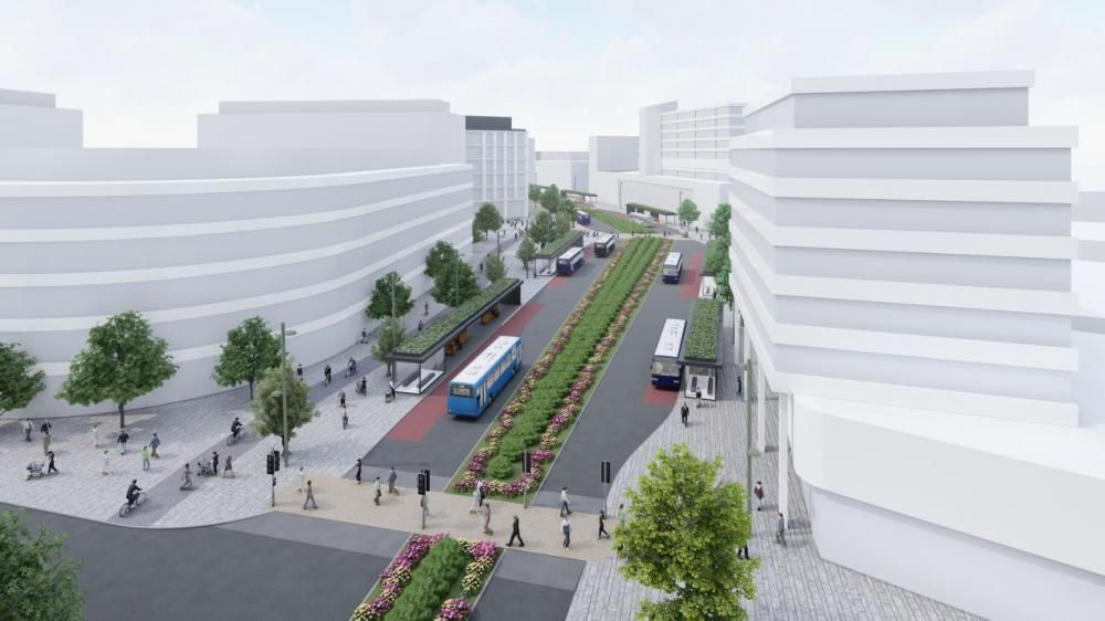 Plans to transform Swindon town centre move a step closer after scheme is shortlisted for Government funding