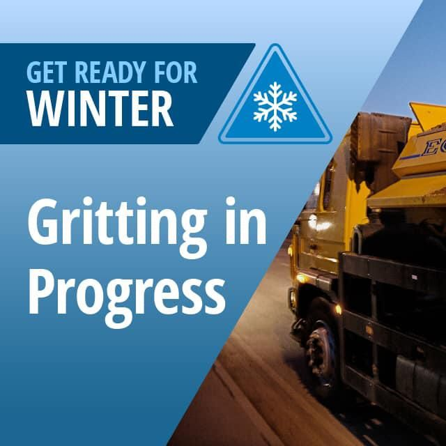 Gritters out in force after severe weather warning for snow issued for Swindon area