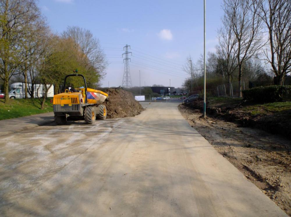First month of Mead Way improvement scheme complete despite lockdown