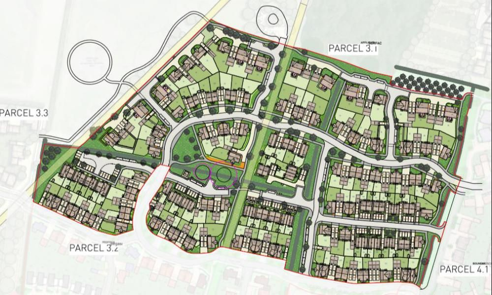 146 more homes planned for Tadpole Garden Village