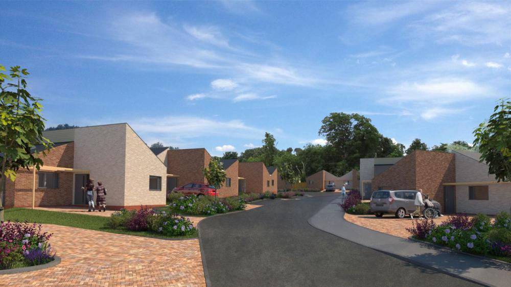 Council's housing company set to build specialist adaptable bungalows in Shaw
