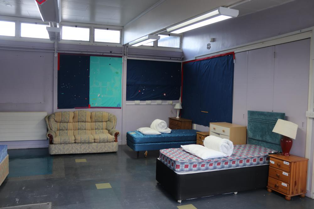 Rough sleepers move in to Council's temporary winter housing facility 'The Haven'