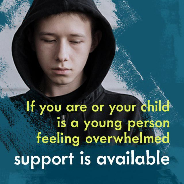 Council help and message of hope for young people feeling overwhelmed