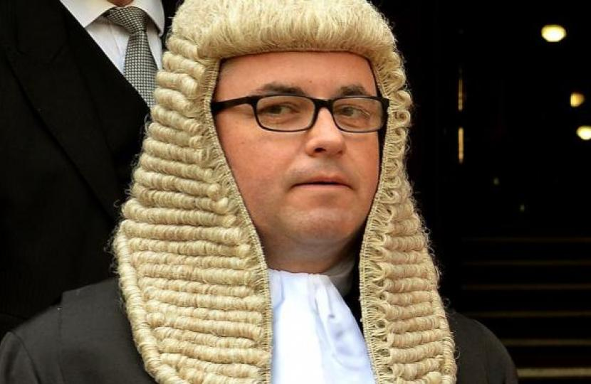 Man who attacked month-old baby has sentence increased after case is referred by Solicitor General Robert Buckland QC