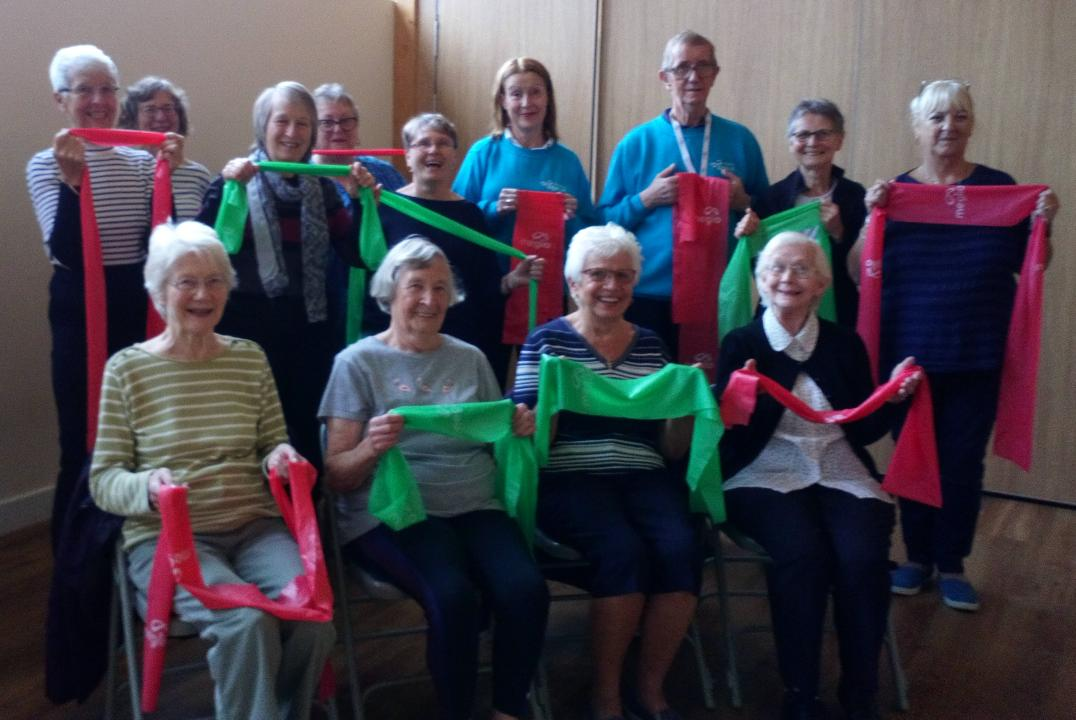 Age UK Wiltshire launches a new Fitness and Friendship Club in Swindon