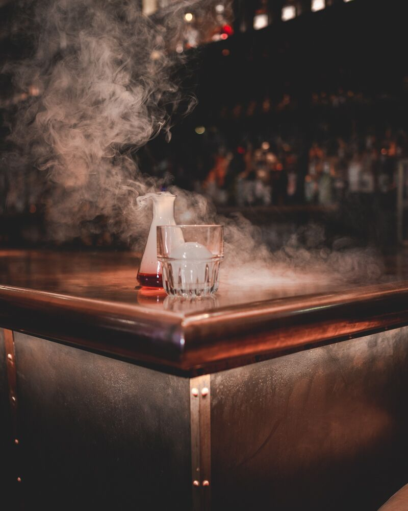 Smokey Old Fashioned