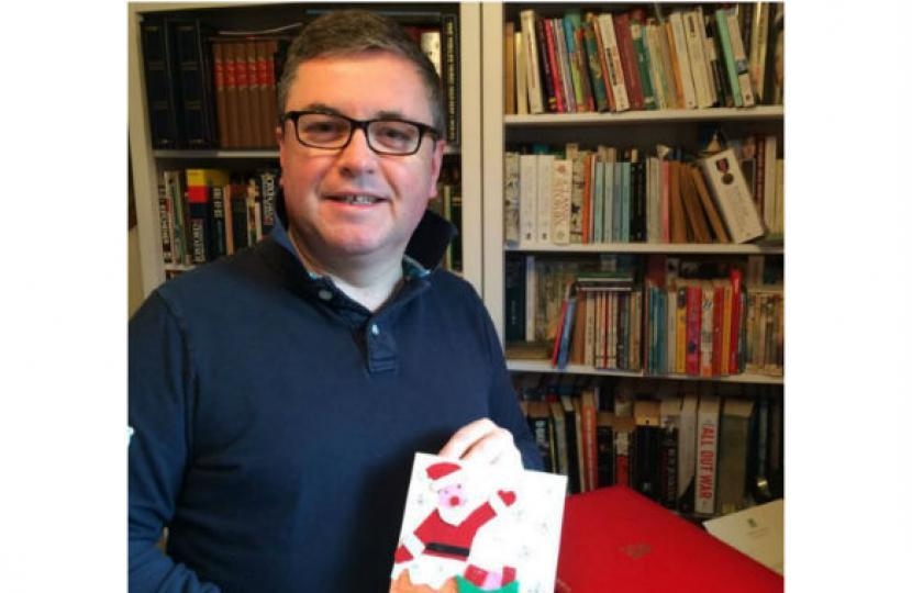 Robert Buckland MP calls on primary school children in South Swindon to enter annual Christmas Card competition