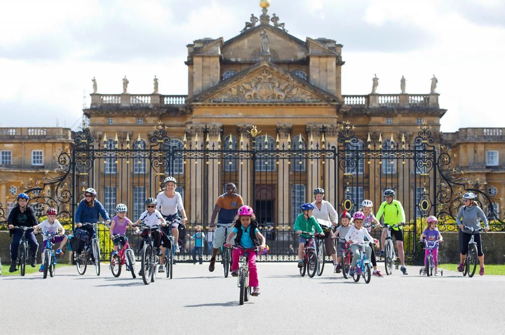 Hop on your bike for a family day out at Blenheim Palace