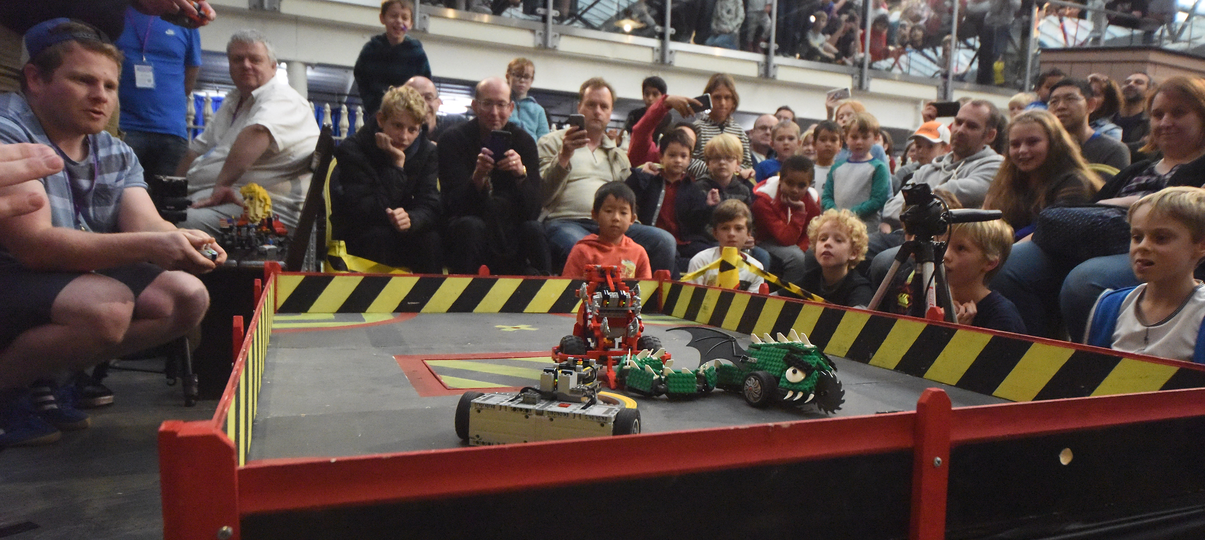 Brick-tacular displays bring out the crowds for the Great Western Brick Show