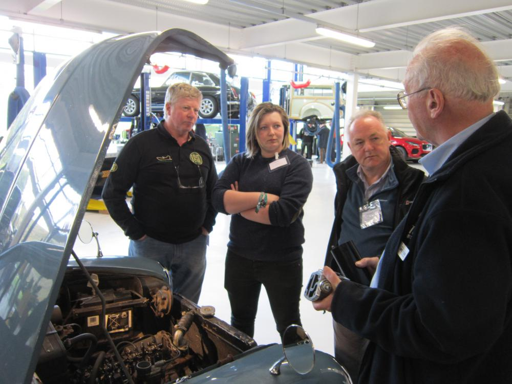Learn new skills at the British Motor Museum