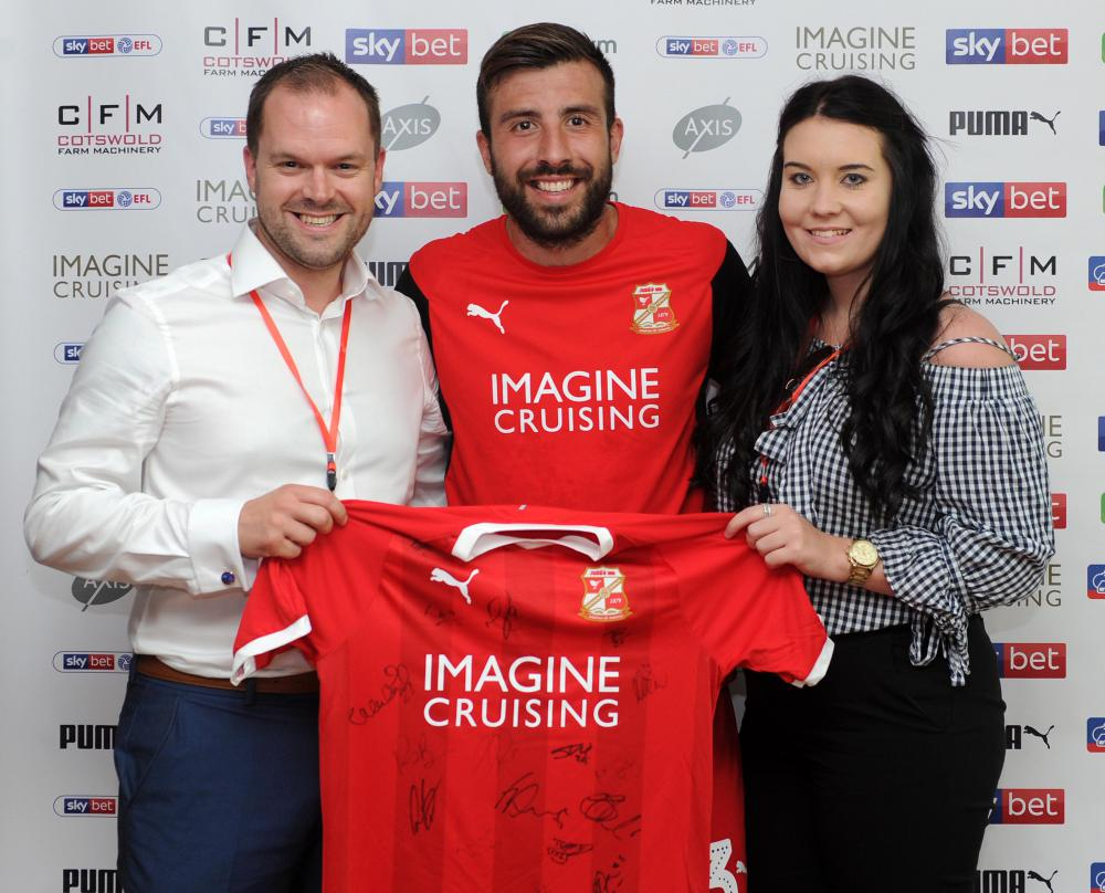 NSBRC teams up with Swindon Town FC