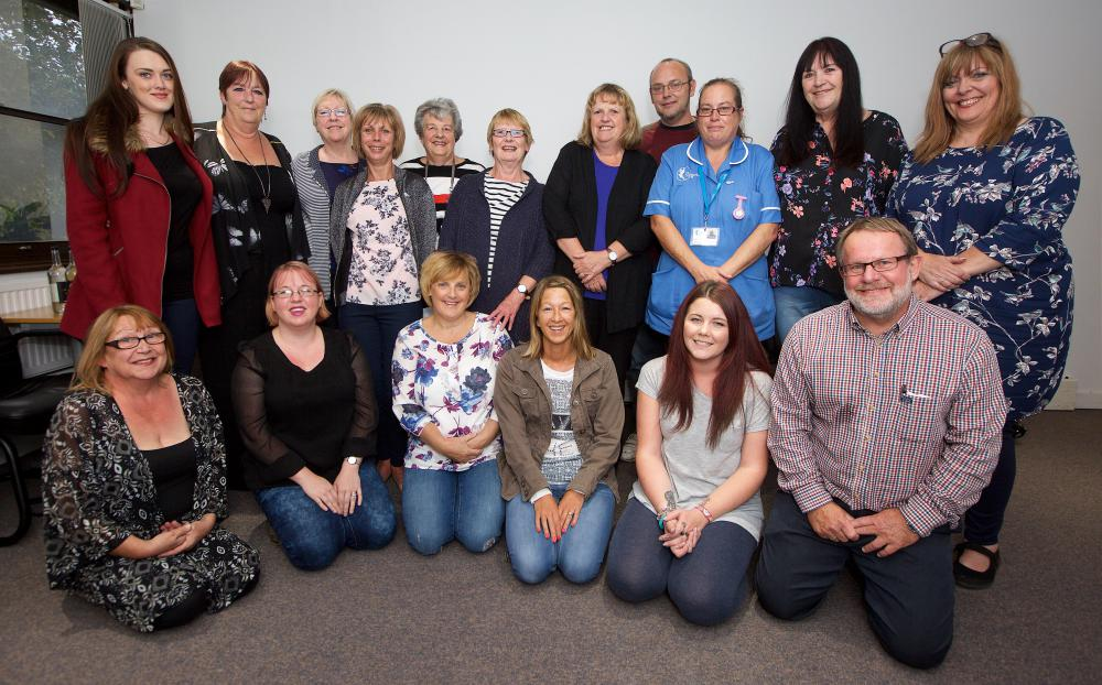 Care workers offered support through charity partnership