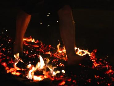 Can you take the heat? Jessie May hosts charity firewalk this Bonfire Night