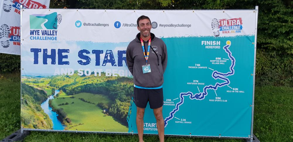 Swindon man takes on Ultra Challenge for charity