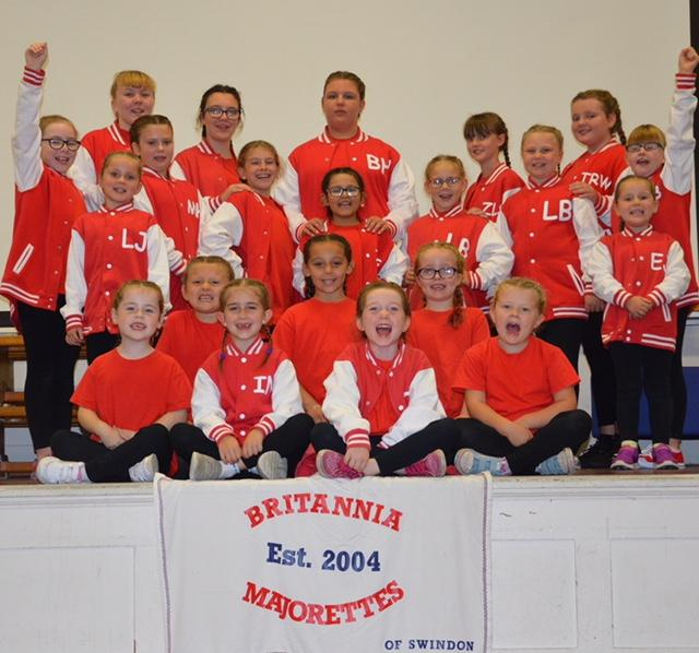 Swindon majorettes are in the mood for marching after successful season