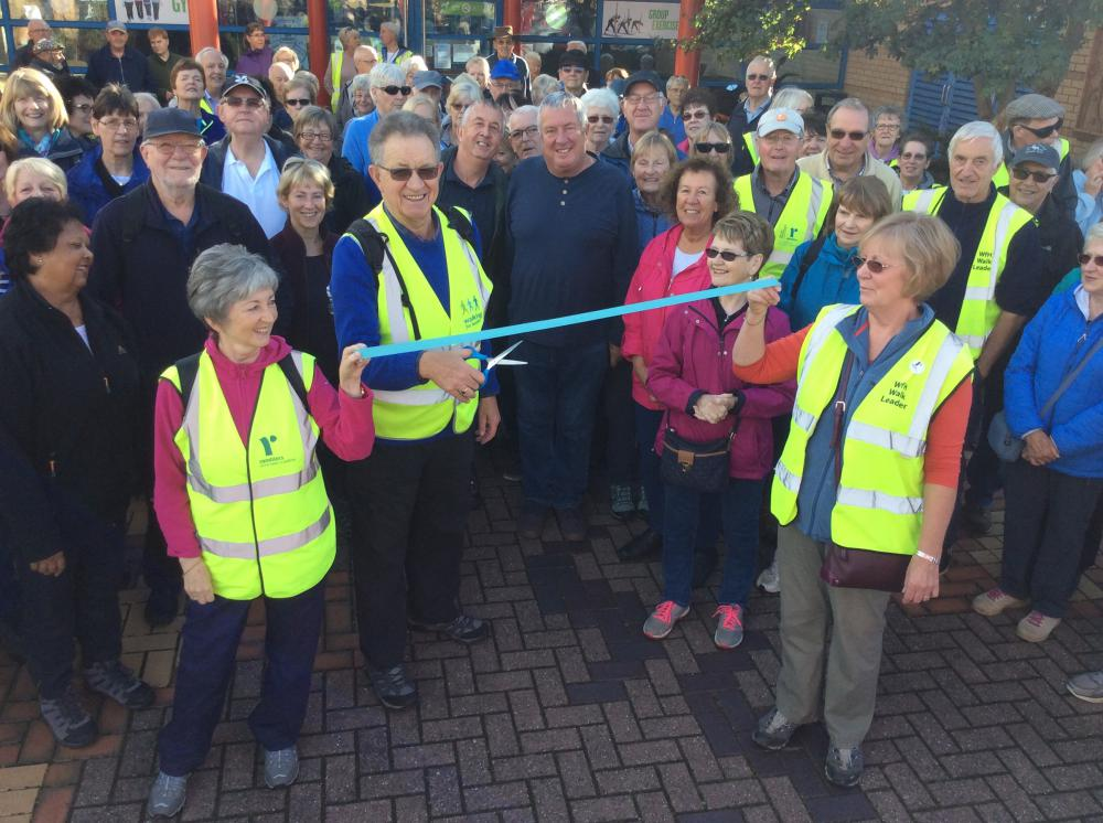 Making strides - local walking group celebrates first birthday