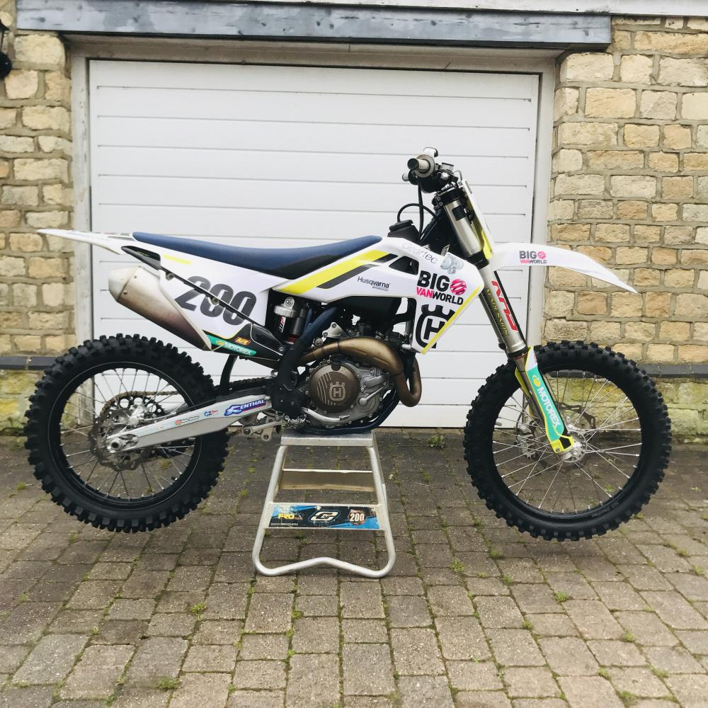 Wiltshire motocross rider appeals for help after his racing bike is stolen