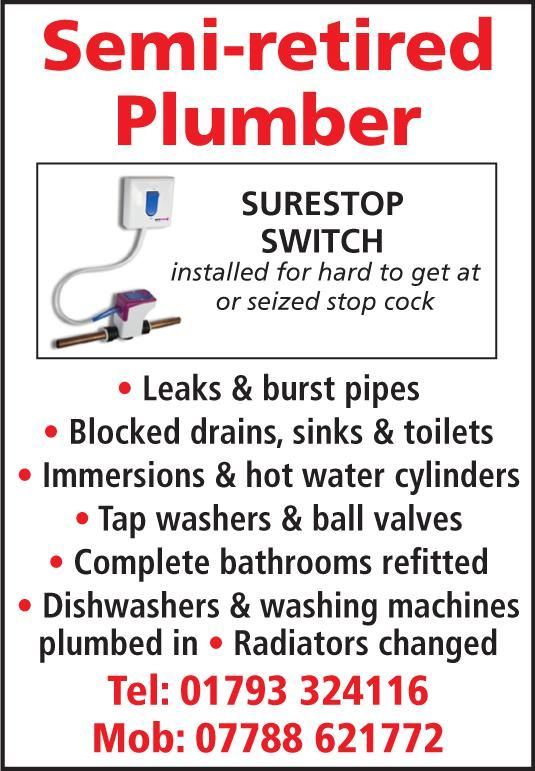 <strong>Semi Retired Plumber</strong>