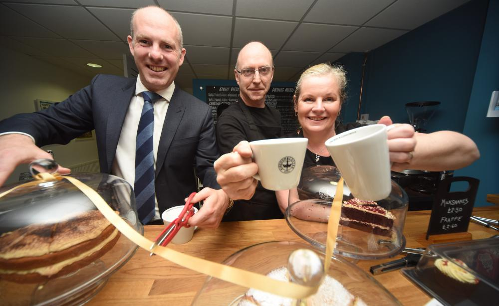 New café adds colour to North Swindon's palette