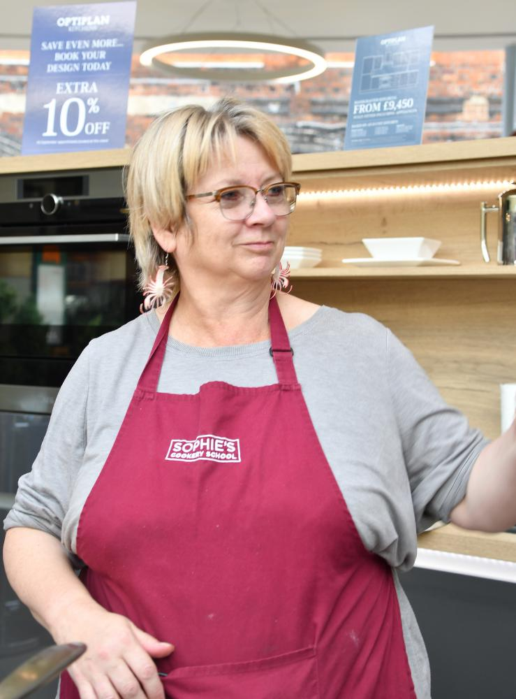 GALLERY: Celebrity chef Sophie Grigson demonstrates her skills at Outlet Village food festival