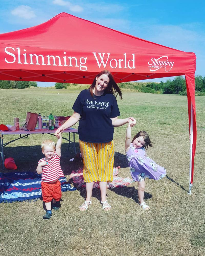 Slimming World group set to walk all over Swindon for charity