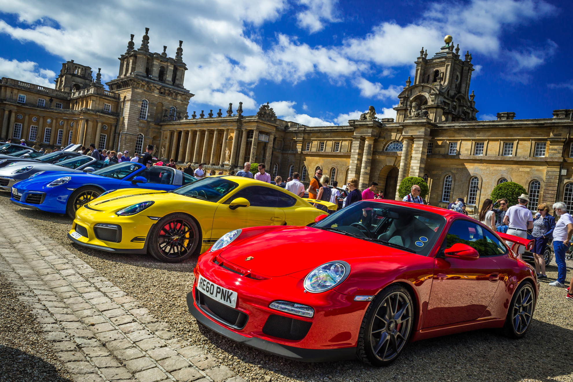 Celebrity Line Up for Blenheim Palace Classic & Supercar