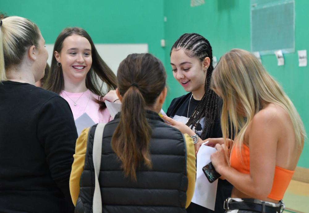 GALLERY: Nova Hreod Academy celebrates improvements in GCSE results