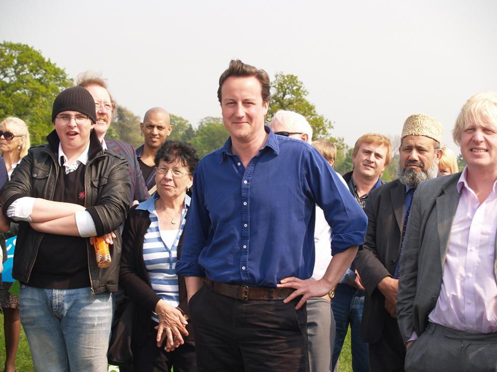 2006: Two future Prime Ministers visit Swindon