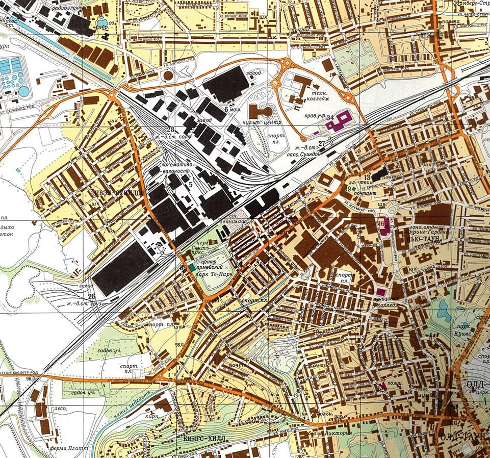 Target Swindon. The Soviet Union secretly mapped the world in detail during the Cold War